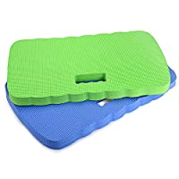 Kneeling Pad,Fitian Knee Protection Garden Kneeler Bath Kneeler Floor Kneeler Yoga Kneeler Mat for Gardening,Baby Bath Tub Bathing,Cleaning,Praying and Exercise(2 Pcs Blue&Green)