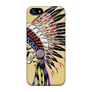 Iphone 5/5s TnV19973DrSO Customized Colorful Grateful Dead Pattern Shockproof Cell-phone Hard Covers -LauraAdamicska