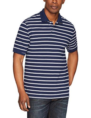 Amazon Essentials Men's Regular-fit Cotton Pique Polo Shirt