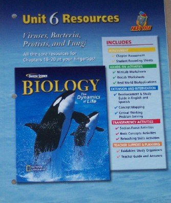 Biology The Dynamics Of Life Unit 6 Resources Viruses