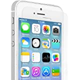 Premium Tempered Glass Screen Protector For iPhone 5S / 5 / 5C - Scratch Proof, Shatterproof Screen Guard, Oleophobic Coating, Explosion Proof Protective Anti Glare Safety Display Film, Anti Fingerprint/Smudge Screenprotector Shield - Support Flawlessly On Touch Screen Mobile Cell Phone, Clear Transparent Glass