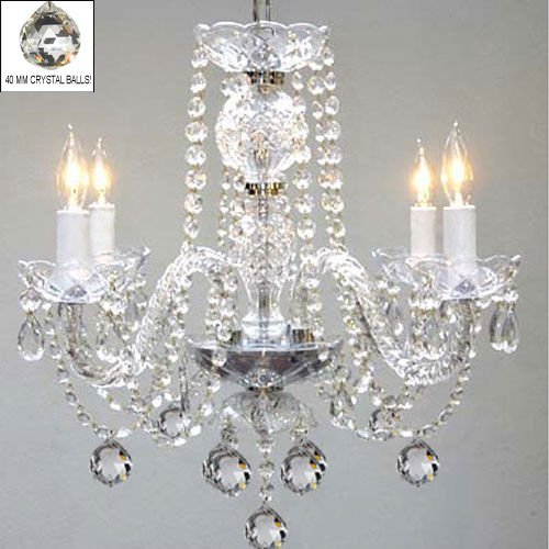 Swag style plug in chandelier amazon murano venetian style all crystal chandelier h17 x w17 swag plug in chandelier w 14 feet of hanging chain and wire mozeypictures Gallery