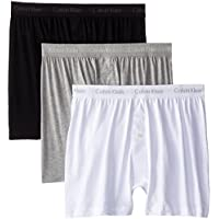 3-Pack Calvin Klein Cotton Classics Multipack Knit Boxers