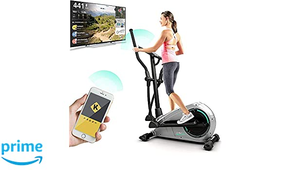 Bluefin Fitness CURV 2.0 Elliptical Cross Trainer Elíptica para ...