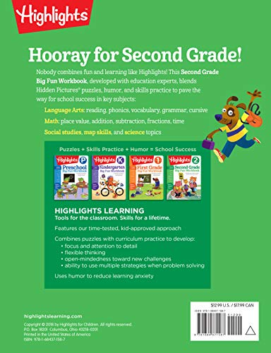 Second Grade Big Fun Workbook (Highlights™ Big Fun Activity Workbooks)