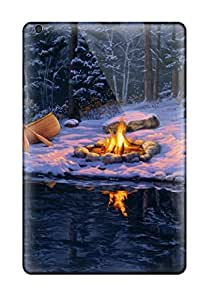 StephanieShaw Case Cover For Ipad Mini/mini 2 - Retailer Packaging Camping Near A River Protective Case