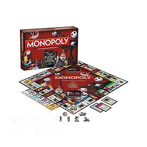 The Nightmare Before Christmas Collector's Edition Monopoly Board Game Available Now! by Unbranded*