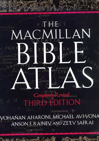 The Macmillan Bible Atlas ()