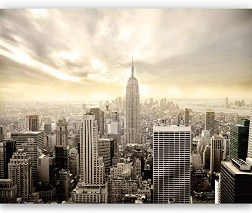 murimage Papel Pintado New York 366 x 254 cm Incluyendo Pegamento ...