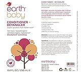 Earth Baby Conditioner + Detangler, Hypoallergenic