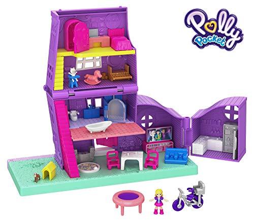Pollyville House is a new toy for girls ages 6 to 8