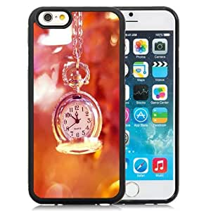 Beautiful Custom Designed Cover Case For iPhone 6 4.7 Inch TPU With Exquisite Pocket Watch Phone Case