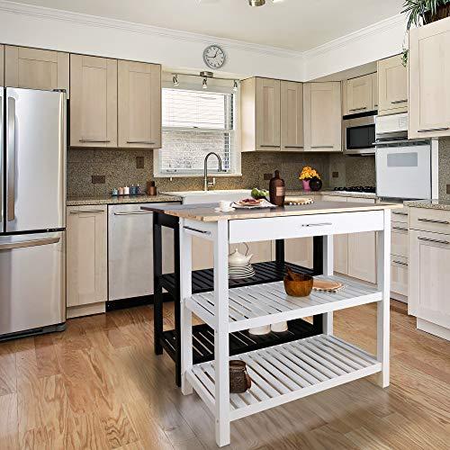 Save $88 on a versatile kitchen island