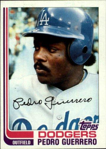 - 1982 Topps Baseball Card #247 Pedro Guerrero
