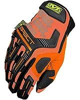 Mechanix Wear Men's The Safety M-Pact Gloves Orange
