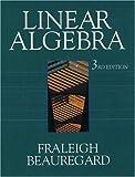 Linear Algebra 9780201526752