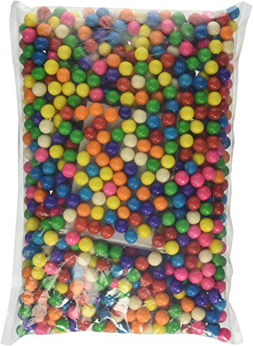 Dubble Bubble Mini Assorted Gumballs - 3 LBS with BONUS ITEM