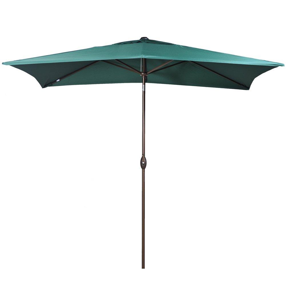 6.6 By 9.8 Feet Rectangular Market Outdoor Table Patio