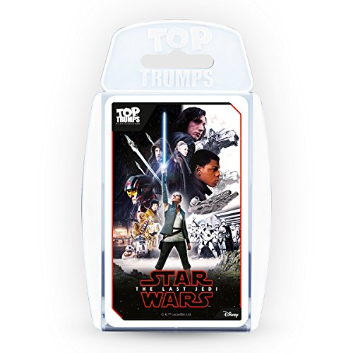 Top Trumps   Star Wars Episode 8: The Last Jedi  Card Game Educatio l Card Game, White