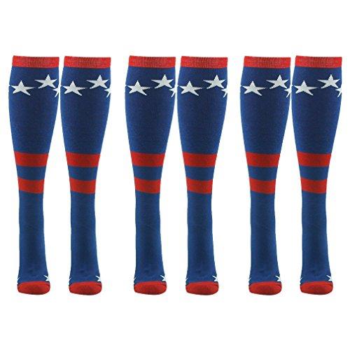 captain america basketball socks - 1
