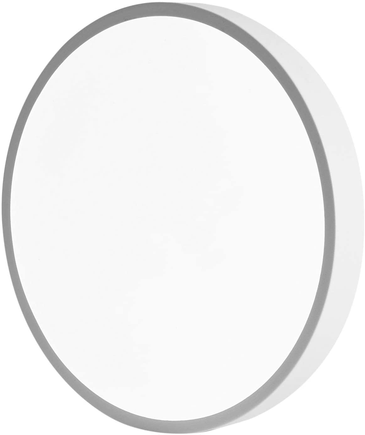 LED Ceiling Lights Modern Ceiling Lamp,48W(260W Equivalent)24-Inch 2800-6500K Dimmable Round Flush Mount Lighting Fixture,80-90Ra+,ETL List,Kitchen Light Fixture for Hallway Office,White