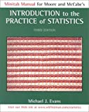 Introduction to the Practice of Statistics : Minitab Manual, Moore, James W. and McCabe, 0716727854
