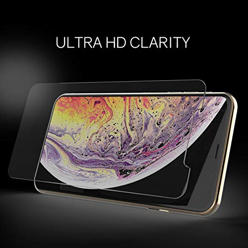 iPhone Xs MAX Screen Protector Tempered Glass, Full Cover Screen Shield [No UV Light Included] Backup Kit by Whitestone for Apple iPhone 10s MAX (2018) - Replacement Only by Dome Glass (Image #6)