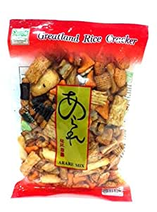 Greatland Japanese Rice Cracker Arare Mix Snack 250 G
