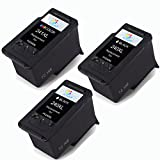 Office Friend Remanufactured Ink Cartridges Replacement For Canon PG-240XL CL-241XL Combo High Yeild (2 Black,1Color) With For Canon Pixma MX372 MX374 MX432 MX434 MX512 MX514 Printer