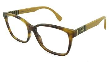 4f1285abfe3e Amazon.com  Fendi Reading Glasses - FF0055 Havana  -FF00557TA54325 ...