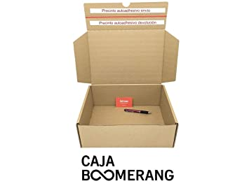 Caja de Cartón para Envíos (Caja Doble Envío) de 35 x 25 x 13