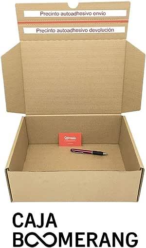 Cajeando   Pack de 10 Cajas de Cartón para Envíos (Caja Boomerang ...