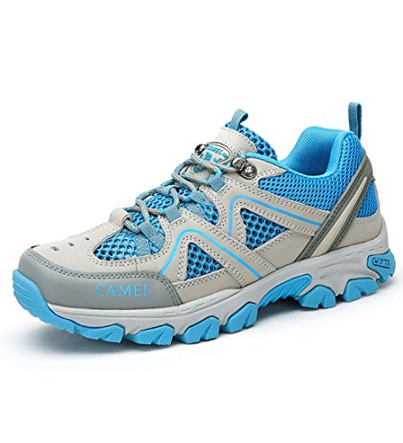 Camel Femmes Casual Lace-up Sneaker Chaussures Couleur Bleu Taille 37 M Eu
