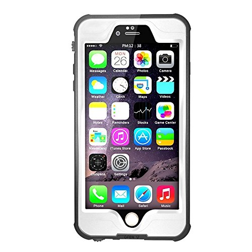 iPhone 6s Waterpoof Case, iPhone 6 Waterproof Case GOGOM Waterproof Shockproof Snowproof Dirtpoof Full Sealed Protective Case Cover for Apple iPhone 6s / iPhone 6 4.7 Inch - Out Glasses Fell Of Lens