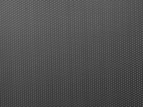 Carbon Steel Perforated Sheet, Unpolished (Mill) Finish, Staggered Holes, 0.250'' Thickness, 3 Gauge, 36'' Width, 40'' Length, 0.375'' Center to Center by Small Parts