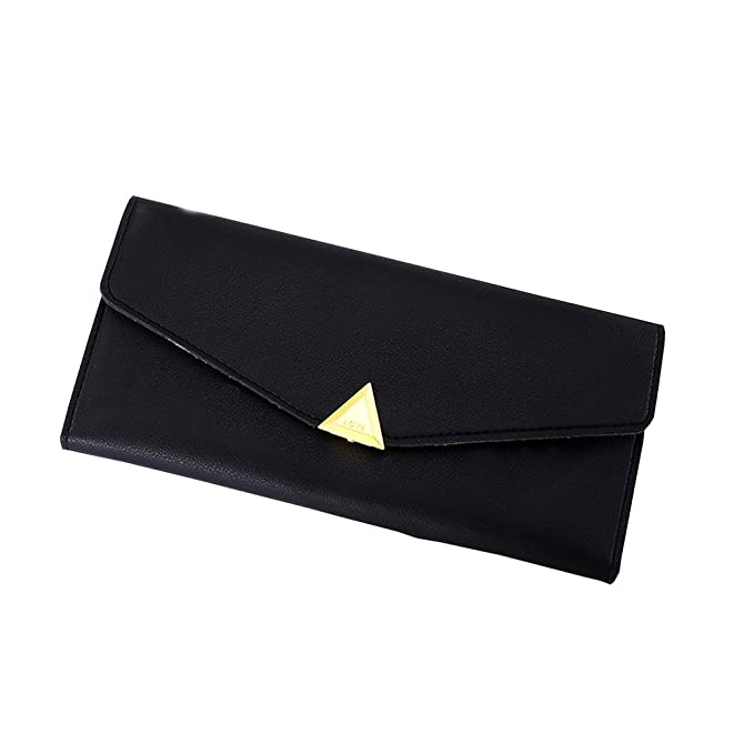 Amazon.com: Fashion Womens Large Capacity Business Card Holder Natural Wallets for Female Long Money Bag billetera: Kitchen & Dining