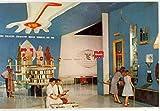 Monsanto Hall of Chemistry - Where Creative Chemistry Works Wonders - Tomorrowland - Disneyland (Vintage Chrome Souvenir Postcard)
