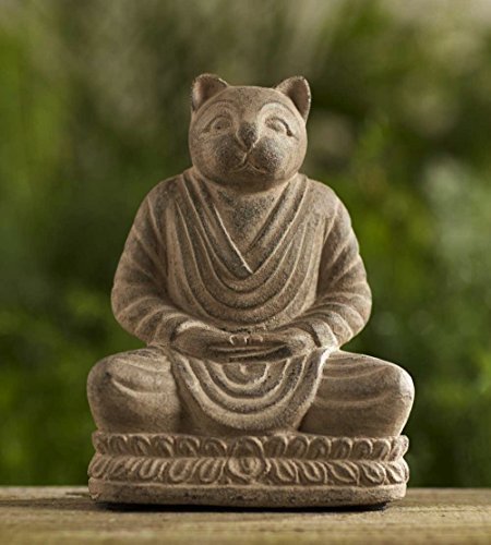 Cheap Repose Home & Garden 2081 Spirit 8″ Stonewashed Meditating Cat