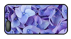 Hipster iphone 5 original covers Blue four petals flowers PC Black for Apple iPhone 5/5S