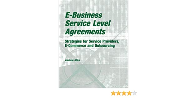 E Business Service Level Agreements Strategies For Service