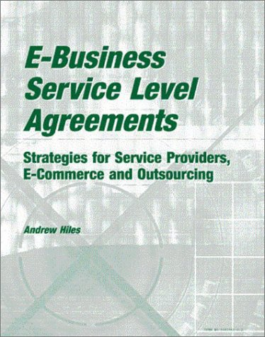 EBusiness Service Level Agreements Strategies For Service
