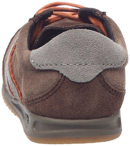 Kickers Kickretro - Zapatos de cordones Niños Marron/Orange