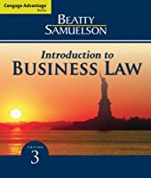 Introduction to Business Law, 3rd Edition Front Cover