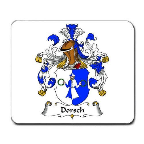 Dorsch the best amazon price in savemoney dorsch family crest coat of arms mouse pad fandeluxe Gallery