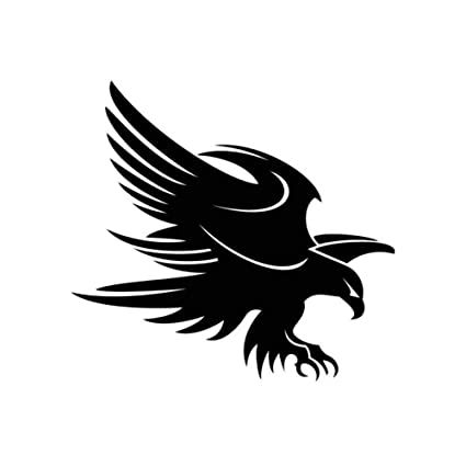 Hard Hats & Face Shields FLYING EAGLE STICKER BUMPER STICKER