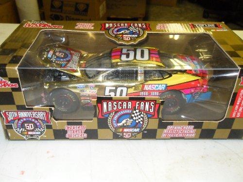NASCAR 50th Anniversary Program Car 1998 Racing Champions 1:24 Die-Cast