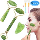 EAONE 5 in 1 Jade Roller Eyes Facial Massage Kit