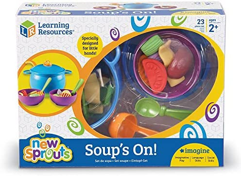 Learning Resources New Sprouts Suppe ist fertig!, Vorschul Rollenspielzeug