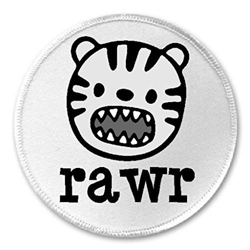 Rawr Face - Rawr Tiger Animal Face - 3
