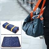 FLhY Beach Blanket Outdoor Waterproof Travel Bag Picnic Mat Foldable Lightweight Beach Carpet Camping Storage Bag